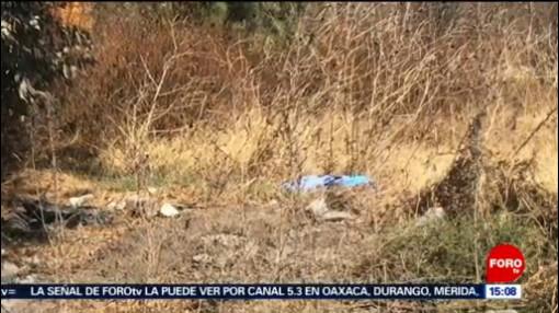 FOTO: Hallan el cuerpo de un hombre en la autopista Peñón-Texcoco, 10 febrero 2019