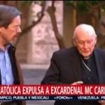 FOTO: Iglesia católica expulsa del sacerdocio al excardenal McCarrick, 16 febrero 2019