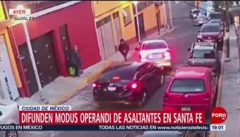 Foto: Asalto Automovilistas Santa Fe Cdmx 21 de Febrero 2019