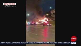 Foto: Incendio En Agencia Autos Monterrye 21 de Febrero 2019