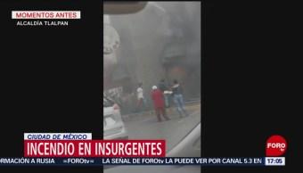 FOTO: Incendio en panadería en la alcaldía de Tlalpan, 16 febrero 2019