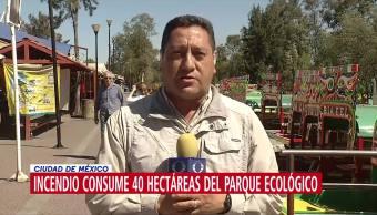 Incendio forestal consume 50 hectáreas en Cuemanco