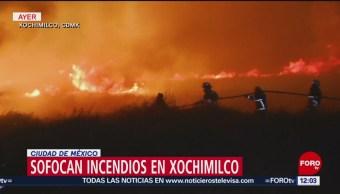 Incendios en zona chinampera de Xochimilco podrían haber sido intencionales