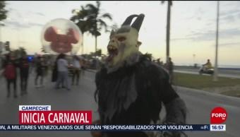 Foto: Inicia el Carnaval en Campeche