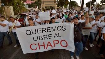 'Injusta la condena al Chapo' habitantes de Sinaloa