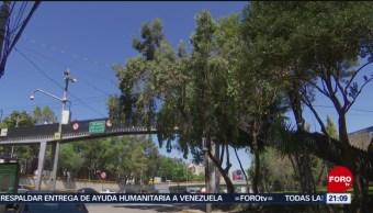 Foto: Intento Secuestro Puente Peatonal Cdmx 20 de Febrero 2019