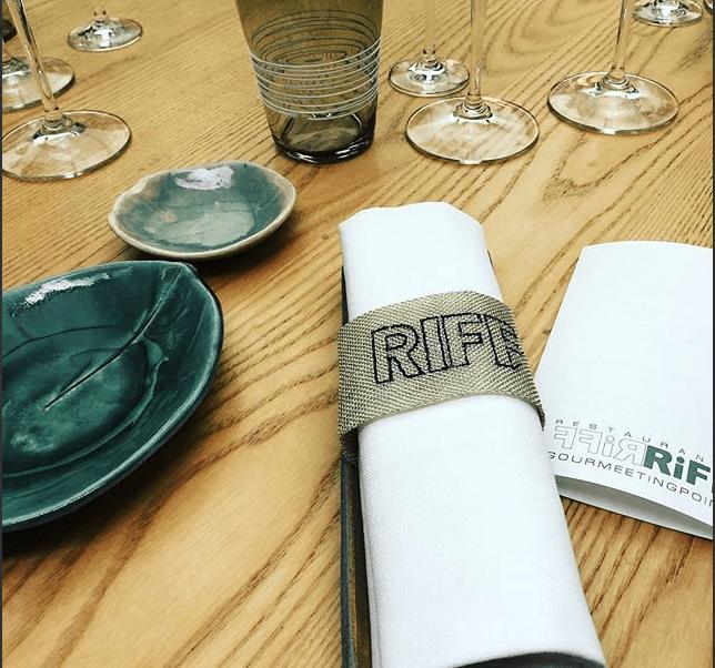 Foto: Mesa de restaurante Riff en Valencia, España. 21 de febrero de 2019