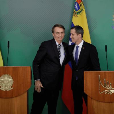 Bolsonaro recibe a Guaidó; ofrece ayuda ante crisis en Venezuela