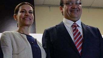 Foto: Javier Duarte y Karime Macías. 23 de agosto 2016. Twitter @Javier_Duarte