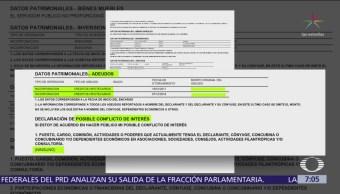Jesús Seade publica su declaración patrimonial, tras advertencia de SFP