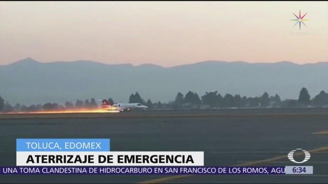 Jet que despistó en Toluca trasladaba órganos para trasplante