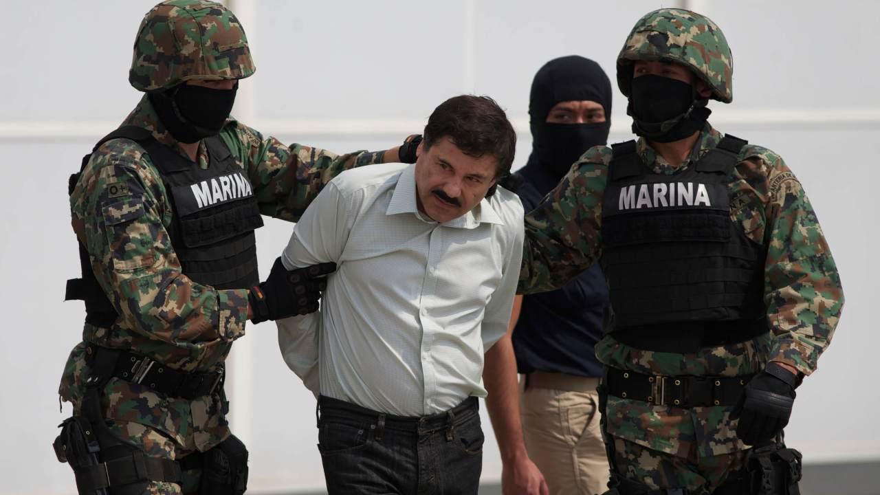 Foto: Joaquín 'El Chapo' Guzmán, 22 de febrero 2014, Ciudad de México