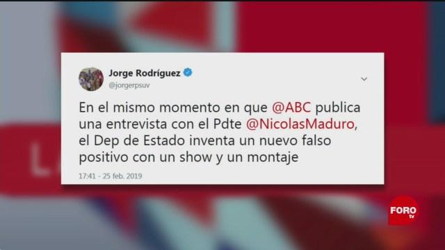 Foto: Jorge Ramos Venezuela Noticias Falsas 27 de Febrero 2019