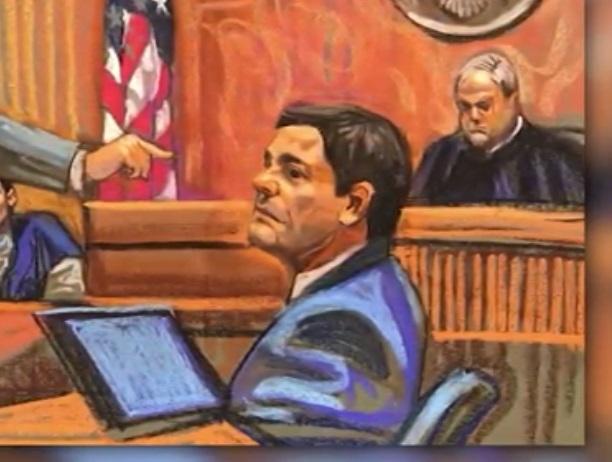 """Foto: El juicio del narcotraficante mexicano Joaquín """"El Chapo"""" Guzmán permanece sin veredicto, Nueva York, febrero 10 de 2019 (Reuters)"""