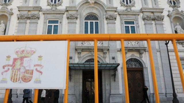 Foto: Corte Suprema de España está lista para el juicio de los líderes del movimiento de independencia de Cataluña en Madrid, España, febrero 11 de 2019 (Reuters)