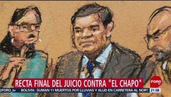 FOTO: Jurado inicia deliberación en juicio a 'El Chapo' Guzmán, 4 febrero 2019