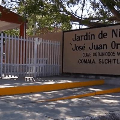 Niño de 5 años recibe golpiza en kínder de Colima