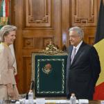 Foto: La princesa Astrid de Bélgica es recibida por el presidente López Obrador, 18 de febrero de 2019, Ciudad de México, México