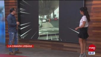 #LaCámaraUrbana en Expreso: Arreglo de pavimento en hora pico