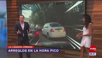#LaCámaraUrbana en Expreso: Arreglos de calles en hora pico