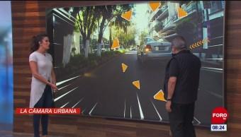 #LaCámaraUrbana en Expreso: Auto estacionado a media calle