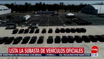 Foto: Subasta Vehículos Lujo Gobierno Federal 21 de Febrero 2019