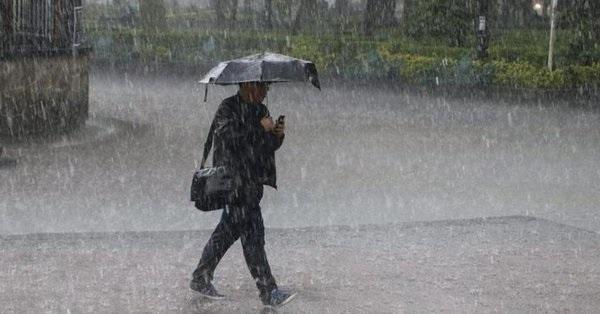 Clima Activan Alerta Amarilla Por Lluvias En La Ciudad De México