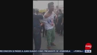 Locatarios de mercado detienen a ladrón en Coyoacán