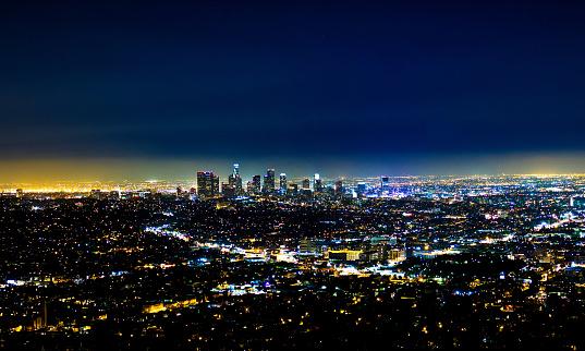 Los Angeles, la ciudad más grande de la costa oeste de Estados Unidos, quedaría sumergida bajo el agua (GettyImages)