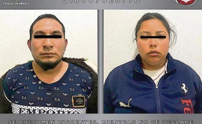 Los imputados, Rutilio de 24 años y Karla Magdalena de 25, dijeron a autoridades que enterrarían el cuerpo en la colonia El Paraíso, en Acolman (FGEM)