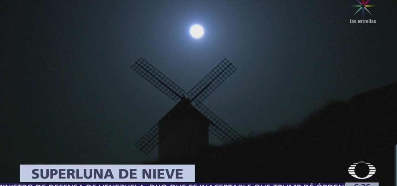 'Luna de nieve', la última luna llena de este invierno
