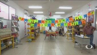 Foto: Maestra Biblioteca Mercado Tuxtla Gutiérrez Chiapas 21 de Febrero 2019