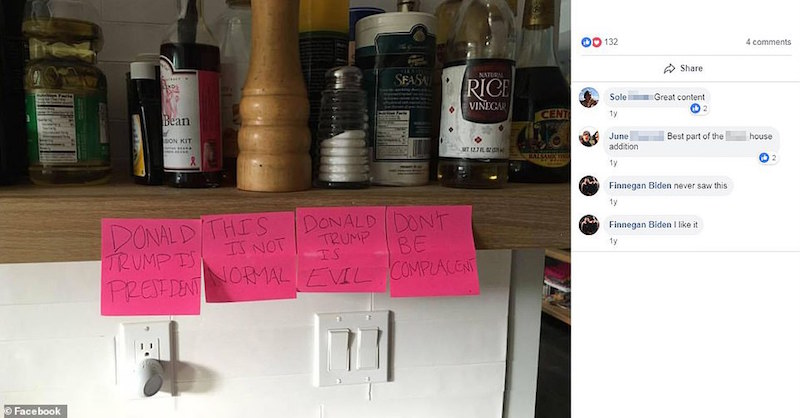 Foto Hija de Obama muestra su odio a Trump en Facebook 21 febrero 2019