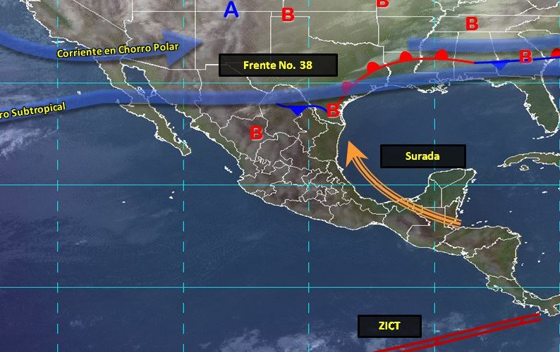 Imagen de fenómenos meteorológicos significativos del 17 de febrero