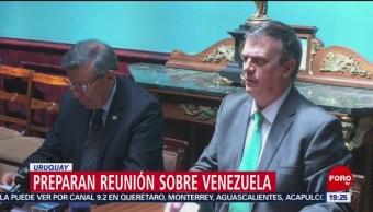 Foto: Marcelo Ebrard Llega Uruguay Reunión Venezuela 06 de Febrero 2019