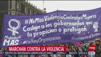 FOTO: Marchan mujeres contra la inseguridad en la CDMX, 3 febrero 2019