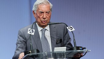 Foto: El escritor peruano Mario Vargas Llosa, 3 febrero 2019