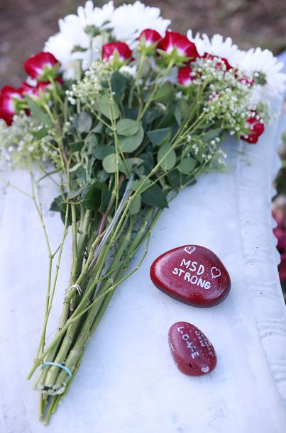 Foto: Parkland celebra triste San Valentín recordando a víctimas de Masacre, 14 FEBRERO 2019