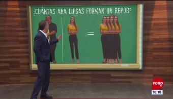 ¿Cuántas Ginas y Ana Luisas caben en 'El Repor'?