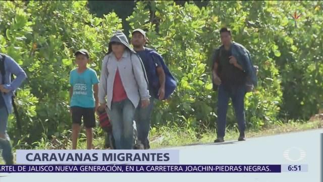 Migrantes centroamericanos se concentran en la frontera norte de México