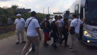 Foto: Los migrantes detenidos podrán pedir asilo o refugio político, el 17 de febrero de 2019 (Noticieros Televisa)