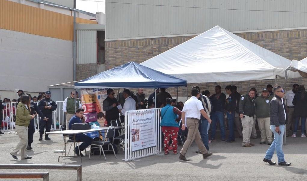 Foto: Migrantes en Coahuila, 18 de febrero 2019. Twitter @GobDeCoahuila