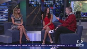 Miguel Bosé visita el estudio de Al Aire