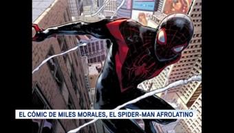 Foto: Miles Morales, el Spider-Man afrolatino