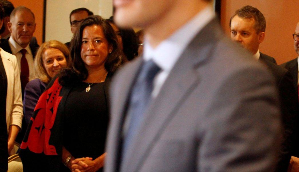 destitucion de ministra indigena dana imagen de justin trudeau