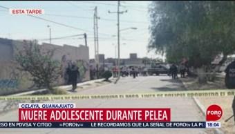 Foto: Muere Estudiante Secundaria Celaya 14 de Febrero 2019