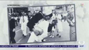 Muere George Mendonsa, a los 95 años