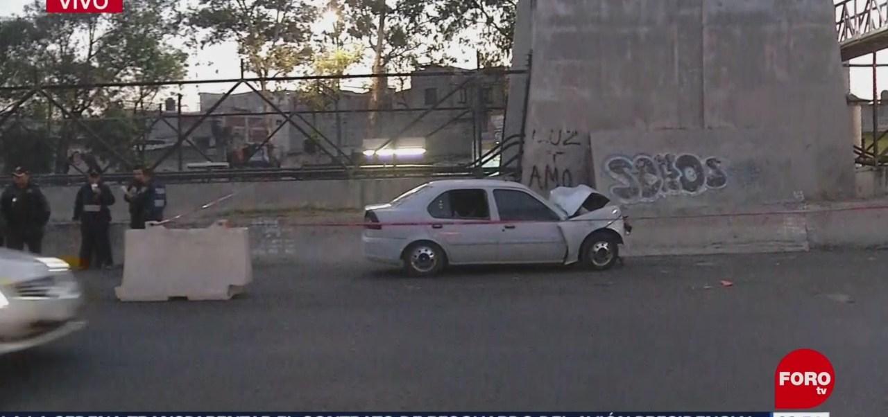 Muere persona tras accidente vehicular en CDMX