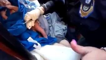 Foto: En la CDMX policías ayudaron en el nacimiento de un bebé dentro de un automóvil, 14 febrero 2019