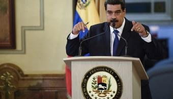 Foto: Nicolás Maduro, presidente de Venezuela, durante una conferencia de prensa en Caracas, Venezuela, 23 febrero 2019